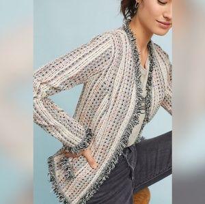 Anthropologie Eva Franco Reston Tweed Jacket